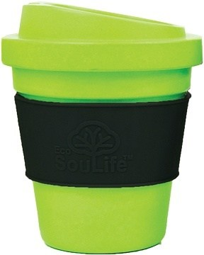 EcoSouLife Bamboo BioSip Cup Lime 355ml