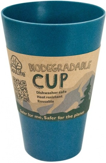EcoSouLife Bamboo Cup Navy 443ml
