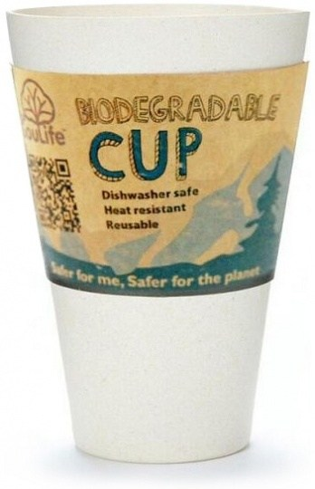 EcoSouLife Bamboo Cup Sand 443ml