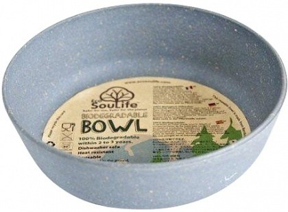 EcoSouLife Bamboo (D15 x H5cm)  Bowl Charcoal