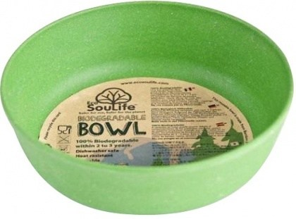 EcoSouLife Bamboo (D15 x H5cm)  Bowl Green