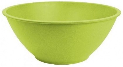 EcoSouLife Bamboo (D27 x H11cm) Salad Bowl Lime