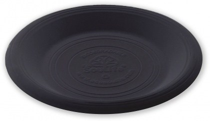 EcoSouLife Cornstarch (23cm) Main Plate Black 20Pc Set