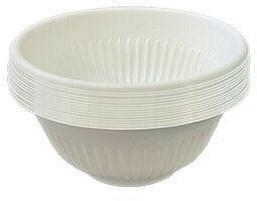 EcoSouLife Cornstarch 450ml Bowl Set Natural 20Pc