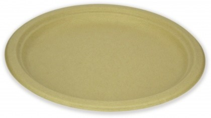 EcoSouLife Wheat Straw (D17cm) Main Plate 10Pc Pack