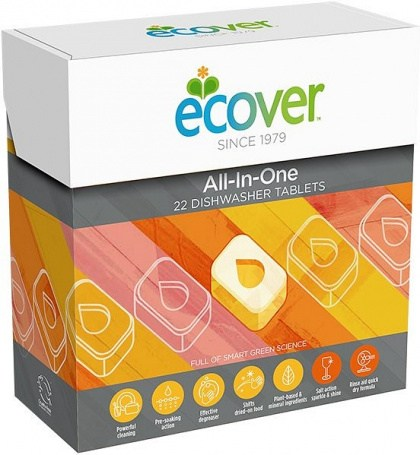 Ecover All-In-One Dishwashing Tablets