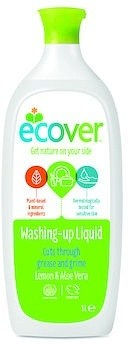 Ecover Washing-Up Liquid Lemon & Aloe Vera 1L