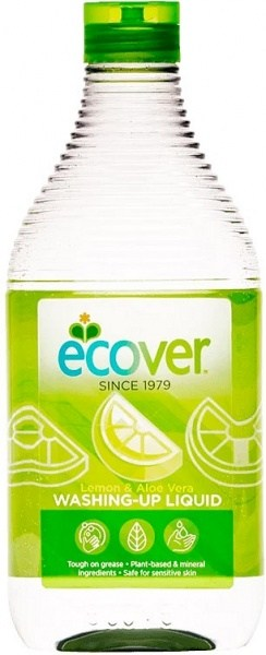 Ecover Washing-Up Liquid Lemon & Aloe Vera 450ml