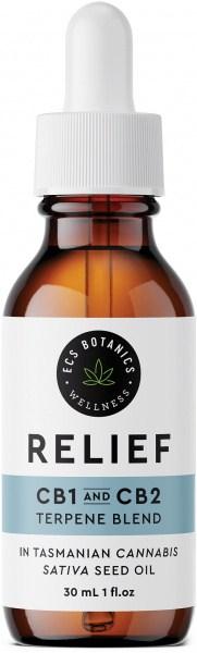 ECS Botanics Cannabis Sativa Terpene Blend - Relief 30ml