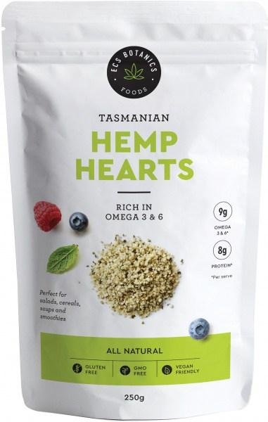 ECS Botanics Tasmanian Hemp Hearts Seeds 250g