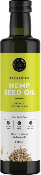 ECS Botanics Tasmanian Hemp Seed Oil 250ml