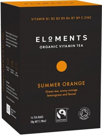 Eloments Organic Vitamin Tea Summer Orange 14Teabags