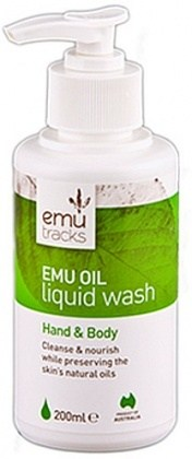 Emu Tracks Emu Oil Antibacterial Liquid Wash 200ml
