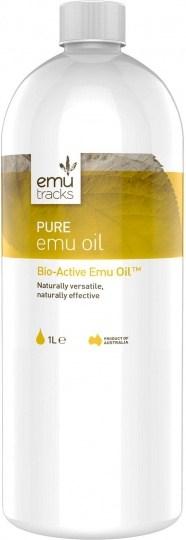 Emu Tracks Pure Emu Oil 1Ltr