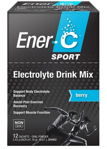 Ener-C Sport Electrolyte Drink Mix Berry  12Sachets