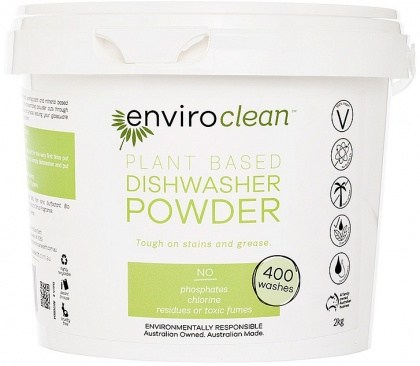 Enviro Clean Dishwasher Powder Super Concentrate 2Kg