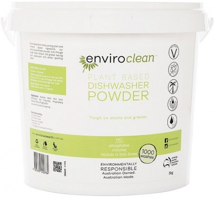 Enviro Clean Dishwasher Powder Super Concentrate 5Kg