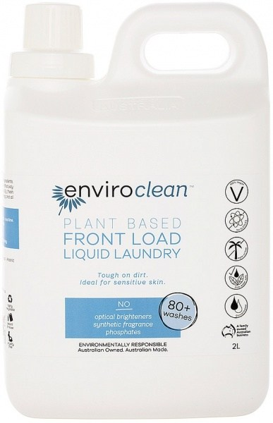 Enviro Clean Front Load Laundry Liquid 2L