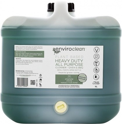Enviro Clean Heavy Duty Cleaner (Oven & BBQ) 15L