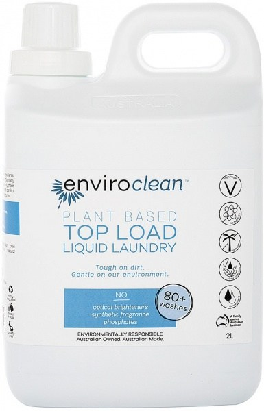 Enviro Clean Liquid Laundry Top Load 2L