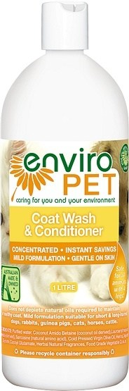 Enviro Pet Coat Wash & Conditioner 1L
