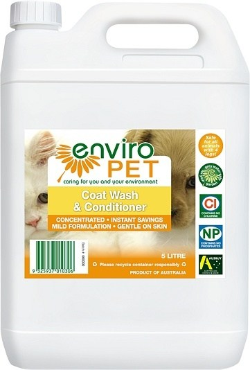 Enviro Pet Coat Wash & Conditioner 5L