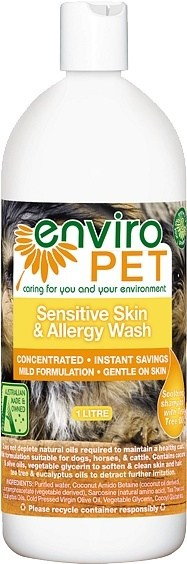Enviro Pet Sensitive & Allergy Wash 1L