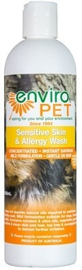 Enviro Pet Sensitive & Allergy Wash 500ml