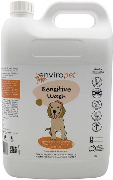 Enviro Pet Sensitive Wash 5L