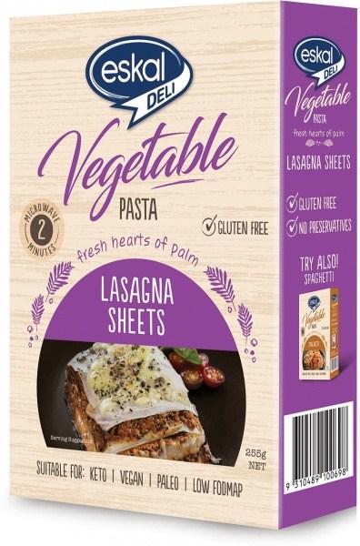 Eskal Deli Vegetable Pasta Lasagna Sheets  255g