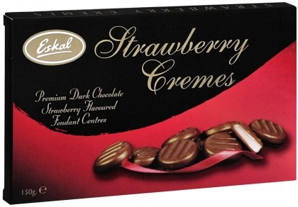 Eskal Gift Box Strawberry Cremes 150g
