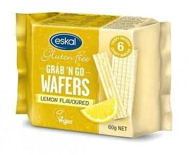 Eskal Grab 'n Go Wafers Lemon  60g