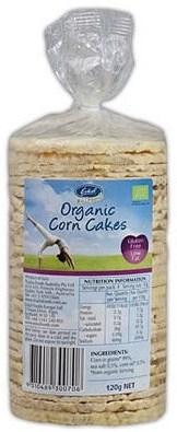 Eskal Organic Corn Cakes 120g
