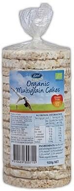 Eskal Organic Multigrain Cakes 100g