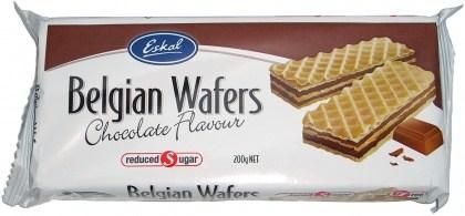 Eskal Reduced Sugar Belgian Chocolate Wafer 200g