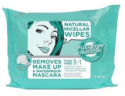 Essenzza Fuss Free 3 in 1 Micellar Cleansing Wipes 25Pk