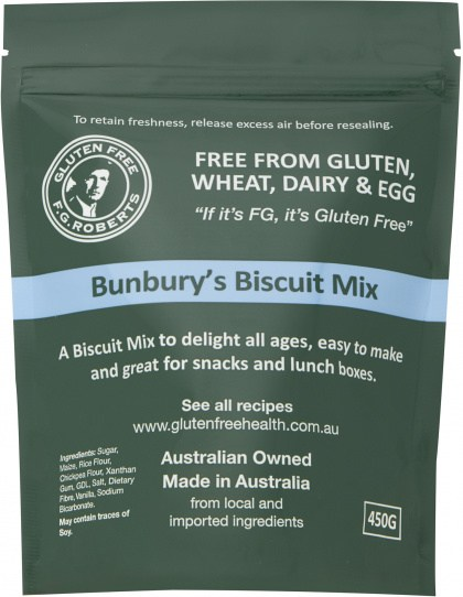 F.G Roberts Bunbury's Biscuit Mix  500g