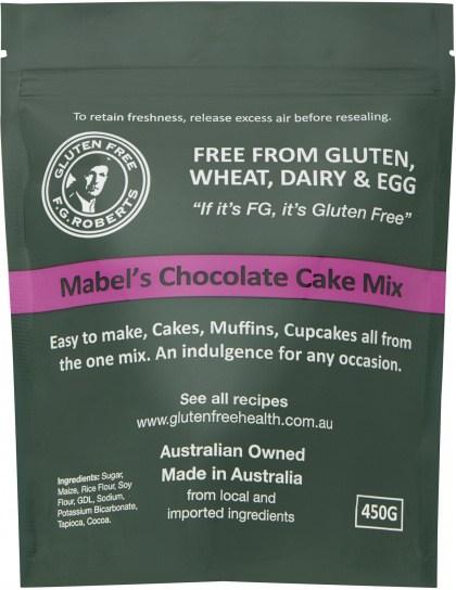 F.G Roberts Mabels Chocolate Cake Mix  450g