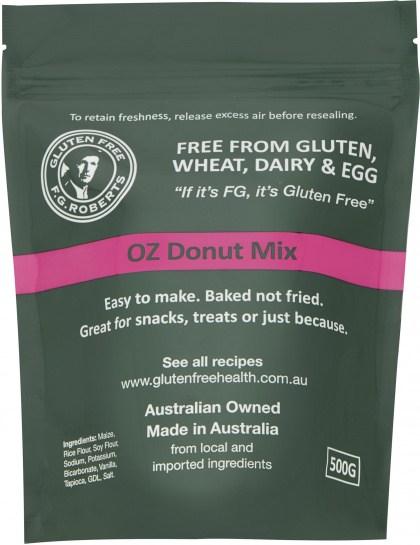 F.G Roberts Oz Donut Mix  500g