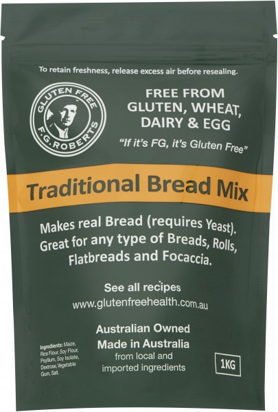 F.G Roberts Traditional Bread Mix  1kg