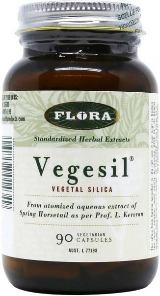 Flora Vegesil Vegetabe Silica 90caps