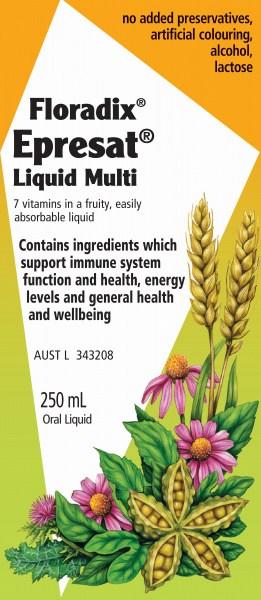 Floradix Epresat Liquid Multi Tonic 250ml
