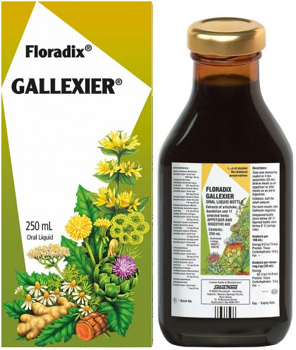 Floradix Gallexier Appetiser & Digestive Aid 250ml