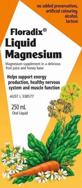 Floradix Liquid Magnesium 250ml