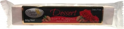 Flying Swan Soft Almond Dessert Nougat Bar 60g