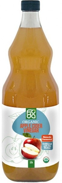 Foda Organic Apple Cider Vinegar 1L