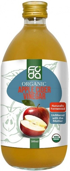 Foda Organic Apple Cider Vinegar 500ml