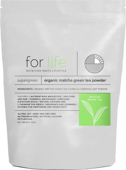 For Life Organic Matcha Green Tea Powder 100g