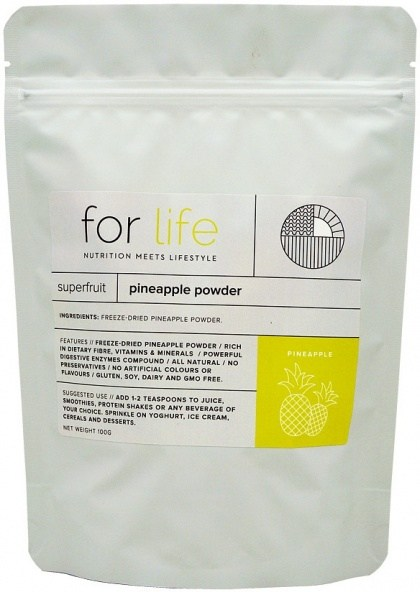 For Life Pineapple Powder 100g