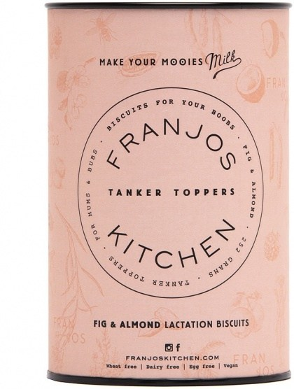 Franjo's Kitchen Fig & Almond Tanker Topper Lactation Biscuits 252g